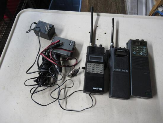 Icom IC-A2 Radio Shack TRC-231 & Sporty's A300 Handheld Radios