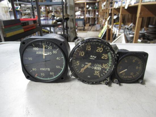 3 Aircraft Gauges