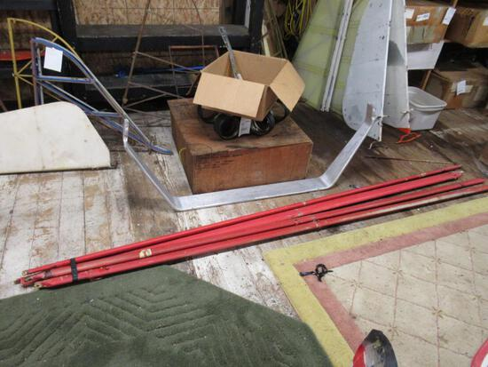 Taylorcraft Wing Lift Struts.SPECIAL SHIPPING REQUIREMENTS