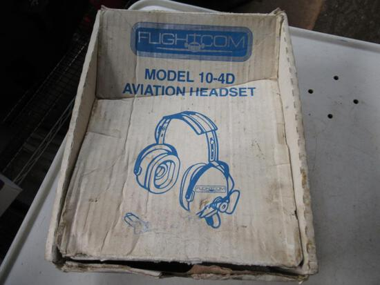 Flightcam 10-4D Aviation Headset