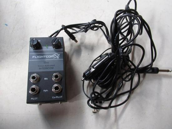 Flightcom II SX Voice Activated Aviation Intercom