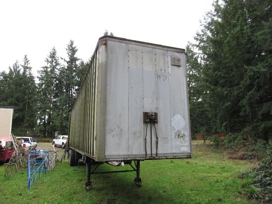 1975 Comet Semi Trailer. 45' long.. SPECIAL SHIPPING REQUIREMENTS