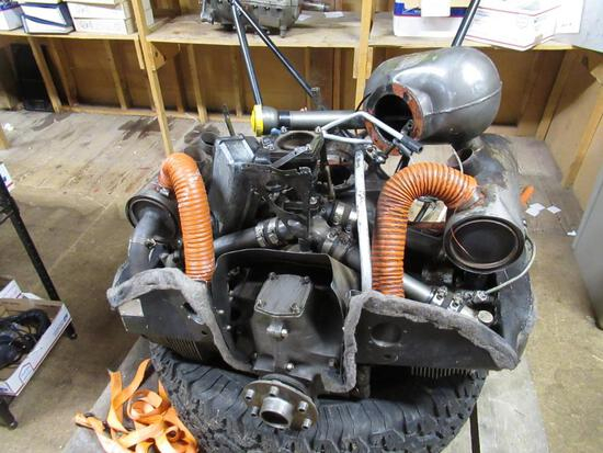 Teledyne Continental Motors Aircraft Engine model C-85-12 serial no 24678-6-12 w/ Logs. SPECIAL