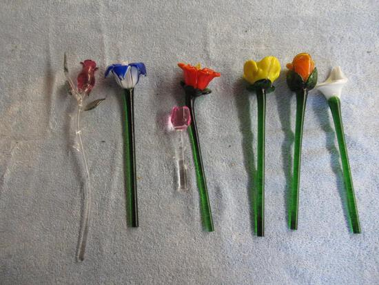 Glass Roses . NO SHIPPING