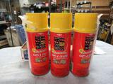3 New Cans of Insulating Foam Sealant