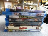 BluRay DVDs 8 total