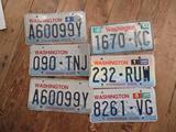 License Plates WA