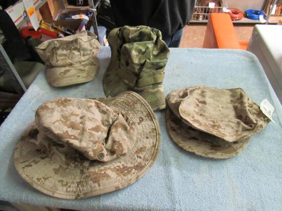 Military - 4 Hats
