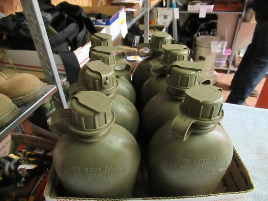 Military - 8 Canteens