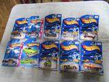 Hotwheels - 10 New