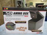 Military - New 50cal Ammo Can w/ Stencil Kit