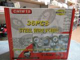 New 36pcs Steel Wire Wheels
