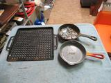 Cast Iron Lot - 3 pcs