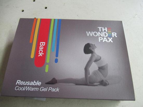 Reusable Hot/Cold Gel Pack The Wonder Pax New for Back