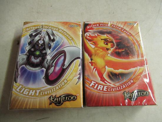 2 New Packs of Kaijudo Cards