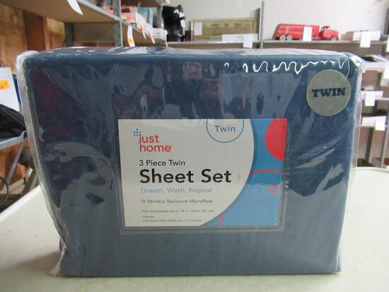 New 3 piece Twin Sheet Set