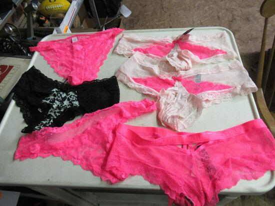 New Victoria Secret Panties - 6 pairs sz L