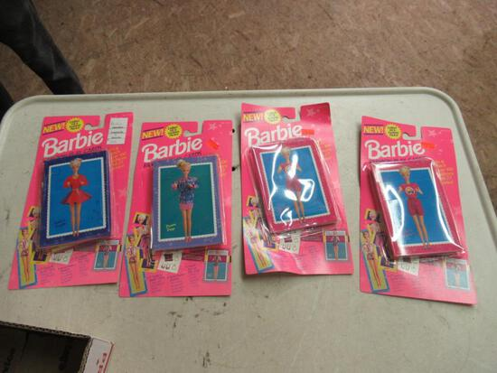 New Barbie Fashion Play Cards