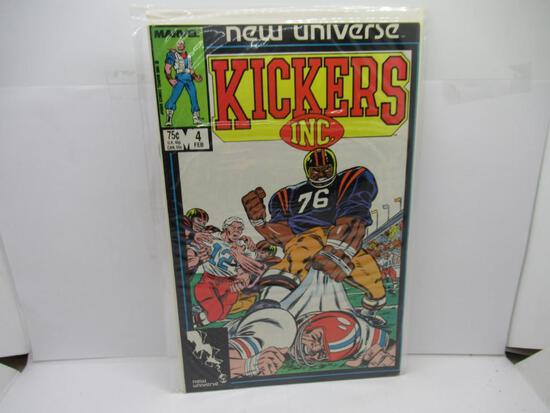 MARVEL COMICS KICKERS INC. #4