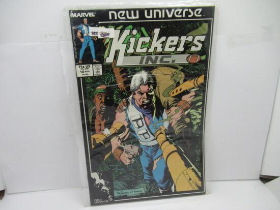 MARVEL COMICS KICKERS INC. #10