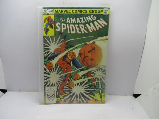 MARVEL COMICS THE AMAZING SPIDER-MAN #244