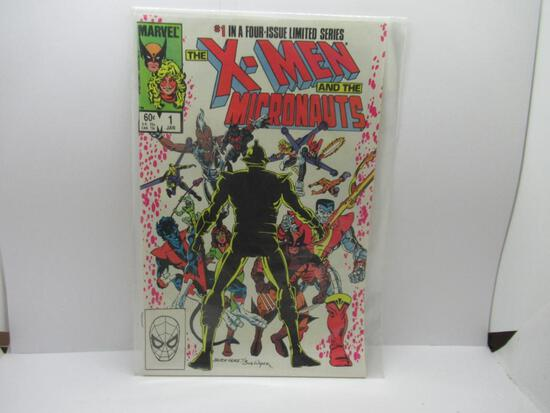X-MEN AND THE MICRONAUTS #1