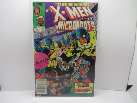 X-MEN AND THE MICRONAUTS #2