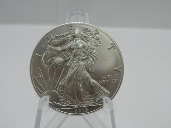 1 oz Silver American Eagle 2019 BU