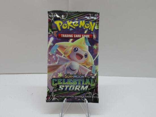 Factory Sealed Pokemon SM Celestial Storm 10 Card Booster Pack