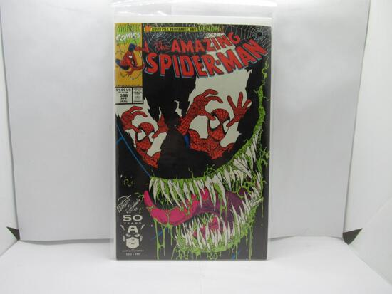 Amazing Spider-Man #346 Early Venom App 1991 Marvel