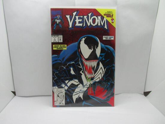 Venom Lethal Protector #1 Red Foil First Print 1992 Marvel