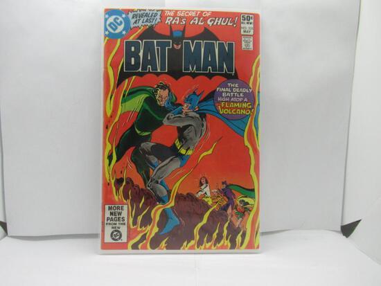 Batman #335 The Secret of Ra's Al Ghul DC Bronze age 1981