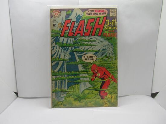 The Flash #176 Mirror Master Silver Age DC 1968
