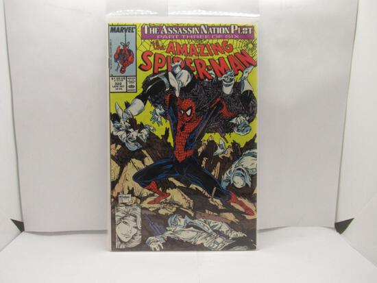 Amazing Spider-Man #322 Todd McFarlane 1989 Marvel