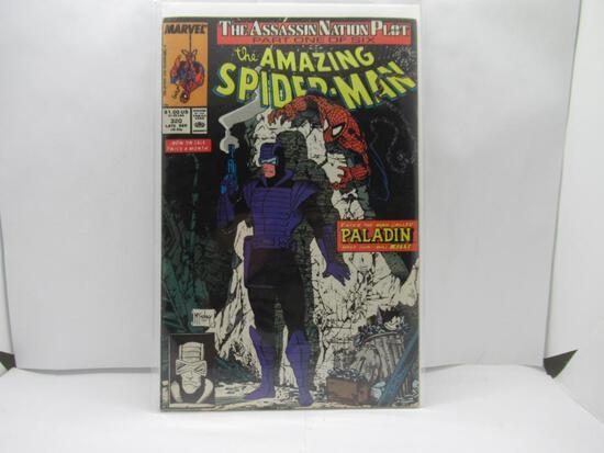 Amazing Spider-Man #320 Todd McFarlane Paladin App 1989 Marvel