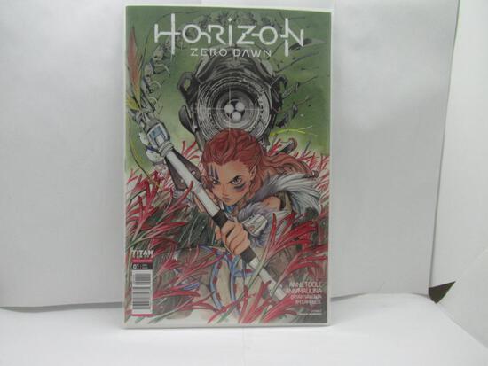 Horizon Zero Dawn #1 Peach Momoko Variant Titan Comics