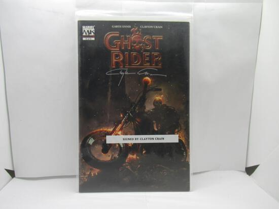 Ghost Rider #6 Signed by Artist Clayton Crain Marvel