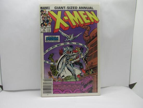 1985 X-Men Annual #9 Storm Goddess of Thunder Thor's Hammer Simonson
