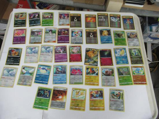 Huge Lot of Modern Rare & Holographic Pokemon Cards from Collection