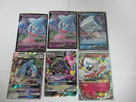 6 Count Lot of Ultra Rare Pokemon Cards from Collection
