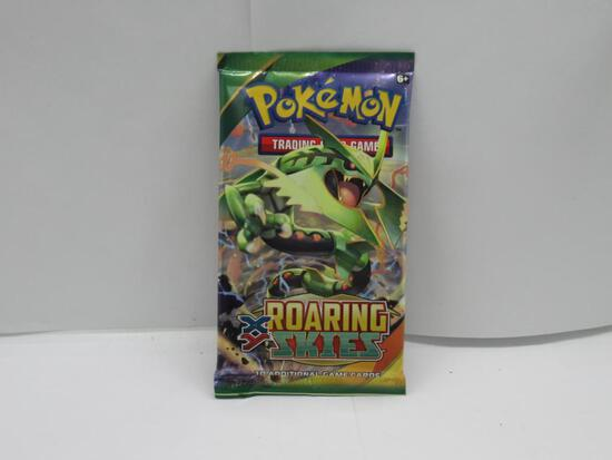 Factory Sealed Pokemon XY ROARING SKIES 10 Card Booster Pack