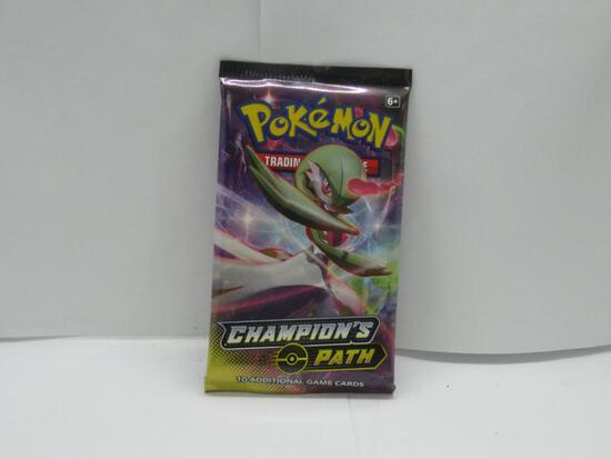 Factory Sealed Pokemon Sword & Shield CHAMPION'S PATH 10 Card Booster Pack