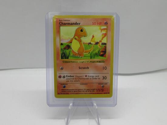 VINTAGE 1999 Base Set CHARMANDER 46/102 Pokemon Card