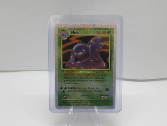 VINTAGE 2002 Legendary Collection MUK Reverse Holo 16/110 Pokemon Card