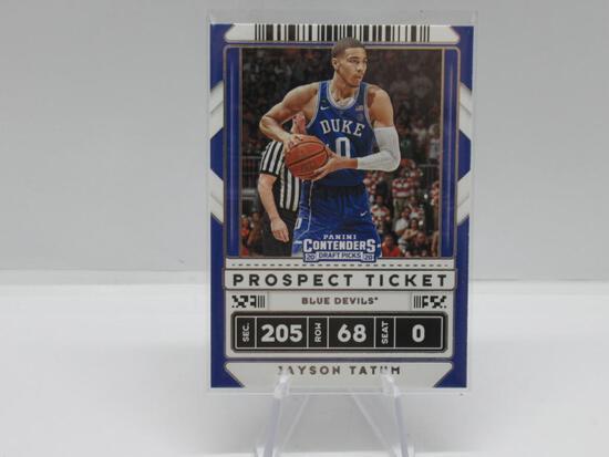 2020-21 PANINI CONTENDERS DRAFT PICKS PROSPECT TICKET BOSTON CELTICS JAYSON TATUM CARD #8