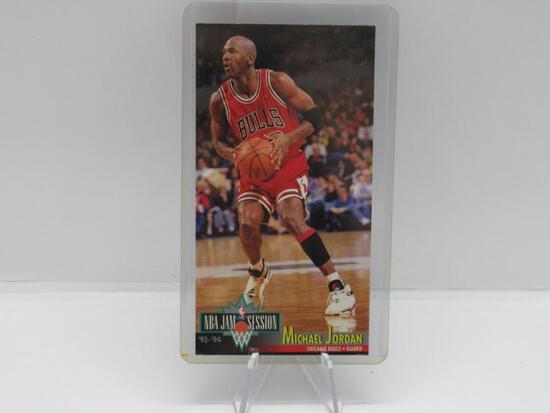 1993-94 FLEER NBA JAM SESSION CHICAGO BULLS MICHAEL JORDAN CARD #33