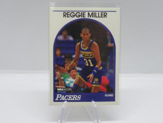 1989-90 FLEER SET BREAK REGGIE MILLER CARD #29