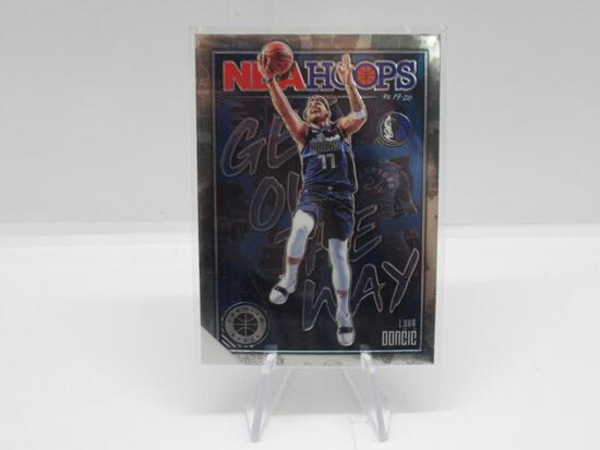 2020-21 PANINI NBA HOOPS GET OUT OF MY WAY DALLAS MAVERICKS LUKA DONCIC CARD #1