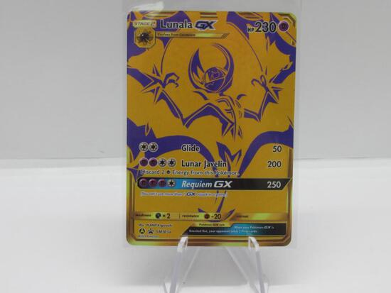 Pokemon Card Hidden Fates Black Star Promo Lunala sm103