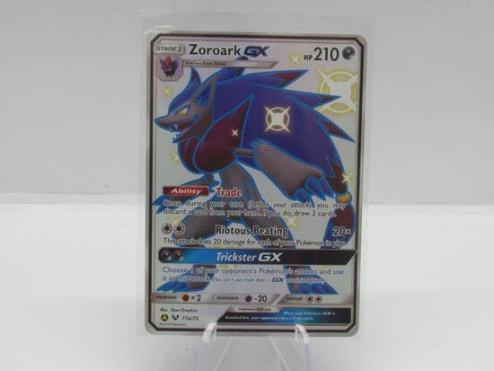 Pokemon Card Hidden Fates Shiny Zoroark 77a/73
